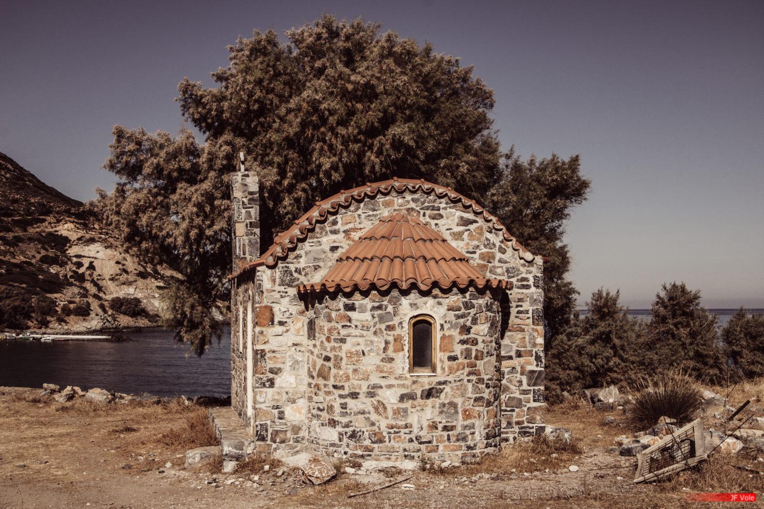 Saint-Basile 101a Fódele, Crète. Septembre 2019.